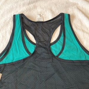 0877a70f02 Danskin Now Tops - Danskin now loose reversible racerback tank 2xl